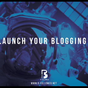 How to launch your blogging career.