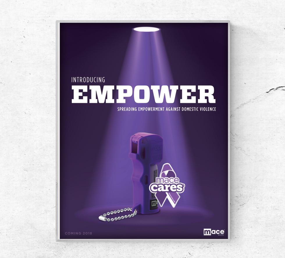 Mace Brand Empower Pepper Spray Line
