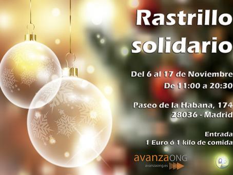 Llega el XVII Rastrillo Solidario de Avanza ONG