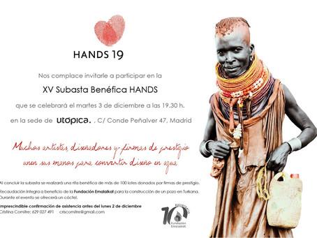 XV Subasta benéfica HANDS 2019