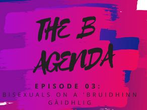 Episode 003: Bisexuals on a 'bruidhinn Gàidhlig