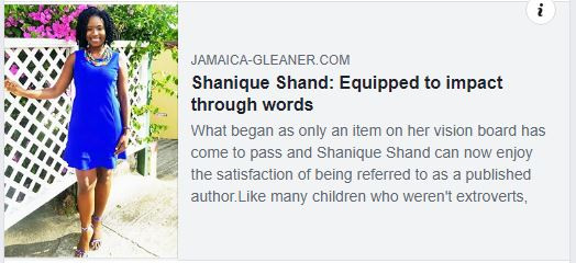 Shanique Shand: Equipped To Impact Through Words