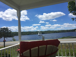 Sailboat from porch