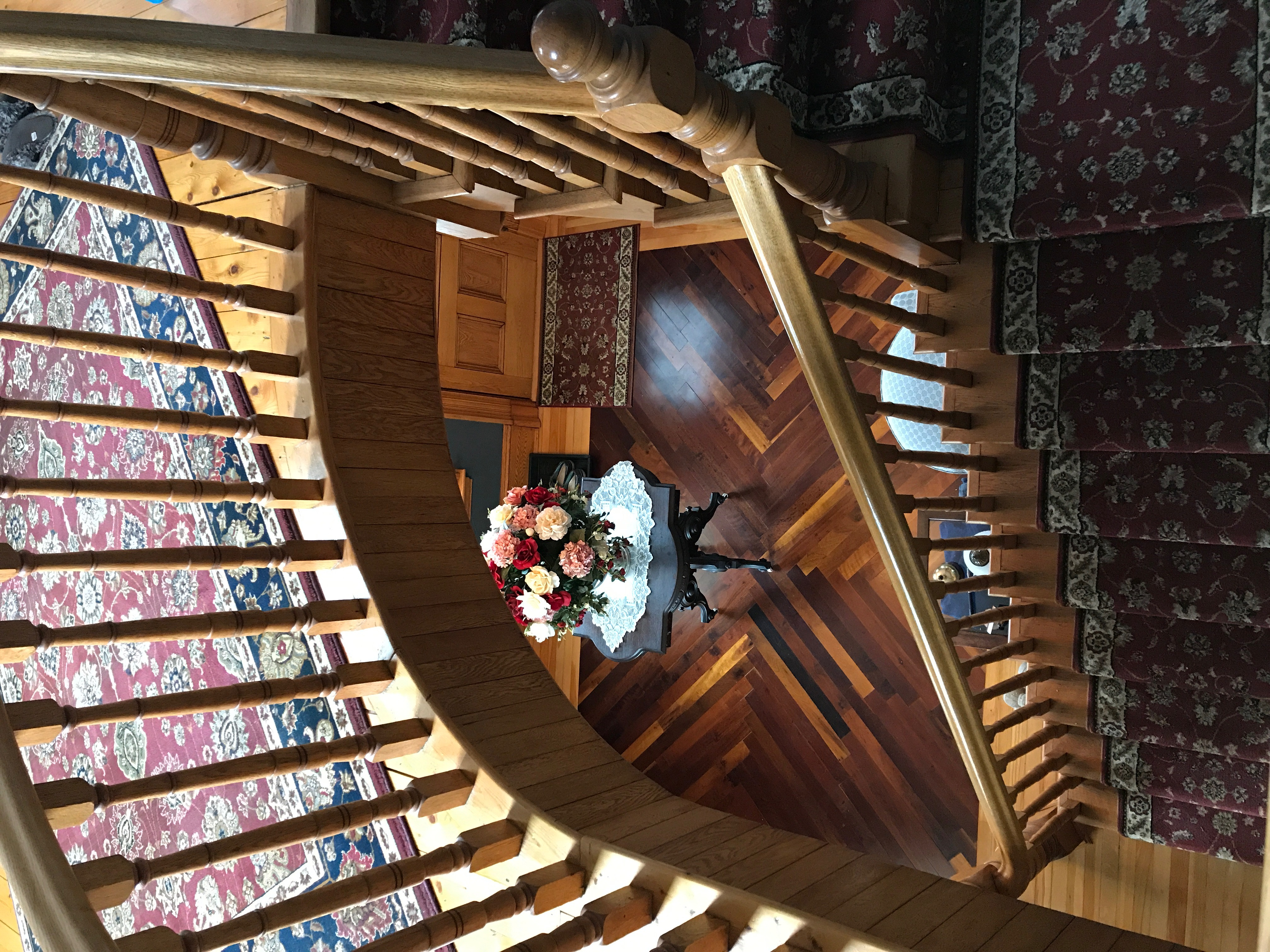 Ship Captain's spiral staircase