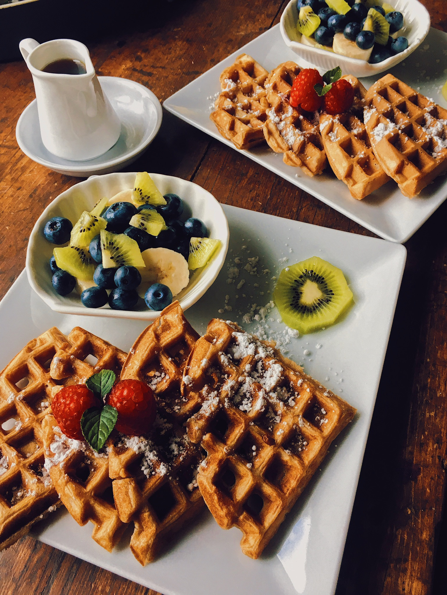 Chai Waffles