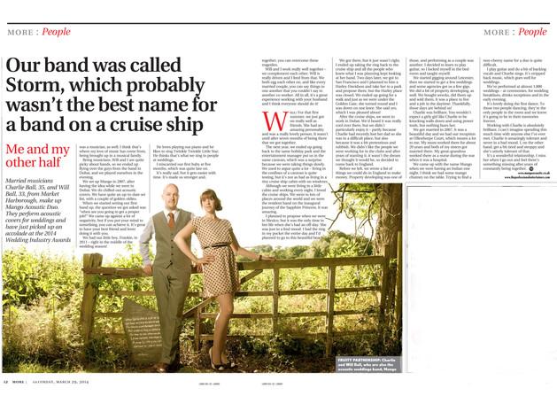 Mango Leicester Mercury Article