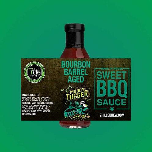 Bourbon Barrel Aged Muddy Tugger BBQ Sauce