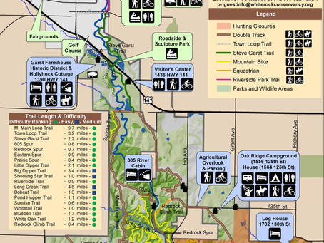 Trails/Campgrounds Closed December 5-7