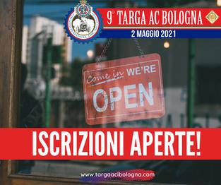 ISCRIZIONI APERTE! Ci rivediamo a Bologna il 2 MAGGIO!
