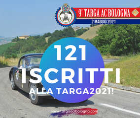 In 121 alla Targa AC Bologna 2021!