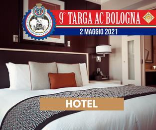 Prenota i servizi alberghieri per la Targa AC Bologna 2021