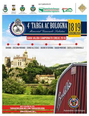 Il Ritorno della 4^ TARGA AC Bologna nelle parole del Direttore Daniele Bellucci per l'editorial