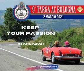 KEEP YOUR PASSION! il 2 MAGGIO TORNIAMO CON TARGA AC BOLOGNA!
