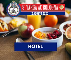 Aggiornate le INFO Hotel di Targa AC Bologna!
