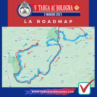 La ROADMAP di Targa AC Bologna