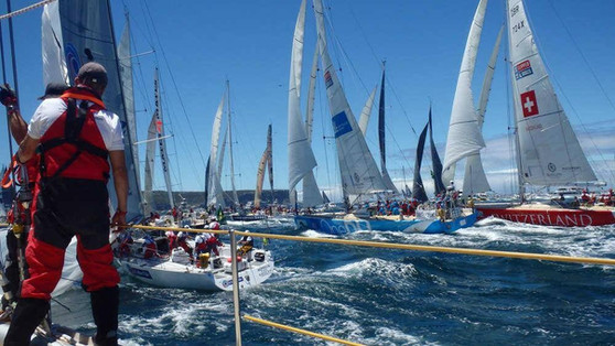 Close racing in Sydney