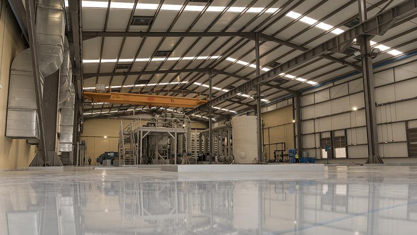Première en son genre à Djibouti, l'usine de dessalement PEPER de Doraleh, le jour de son inauguration