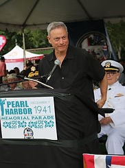 Gary Sinise, Grand Marshal - Pearl Harbor Memorial Parade - 80TH Anniversry