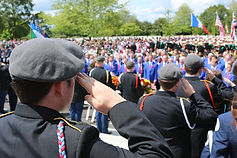 D-Day 75th Anniversary Ceremony at Brittany American Cemetery