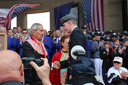 D-Day 75th Anniversary Ceremony at Omaha Beach