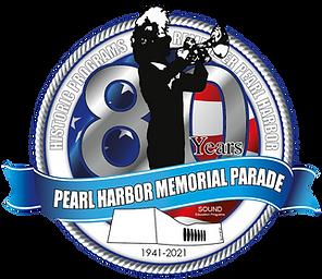 80th Anniversary of Pearl Harbor Parade Logo