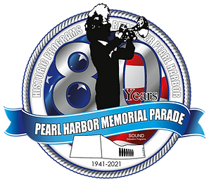 80th Anniversary of Pearl Harbor Parade Logo