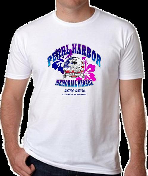 2019 Official Pearl Harbor Memorial Parade T-Shirt