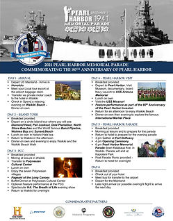 2021 Sample PHP Itinerary - 6 day (image