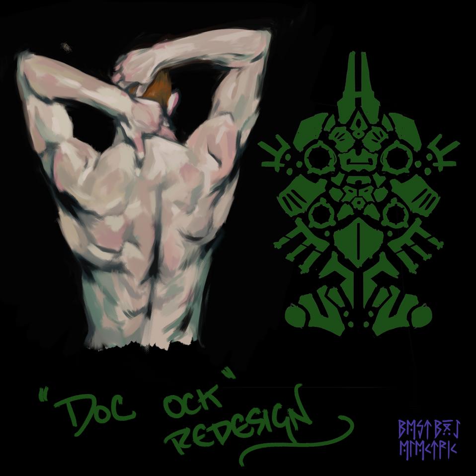 doc ock back design
