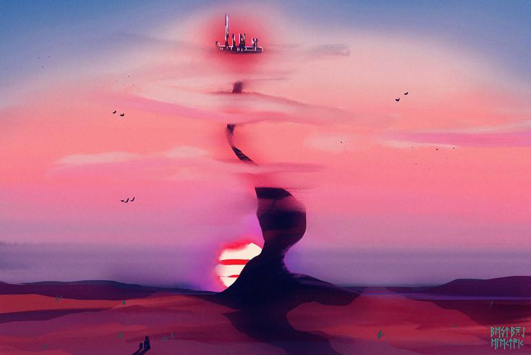 sky castle sketch