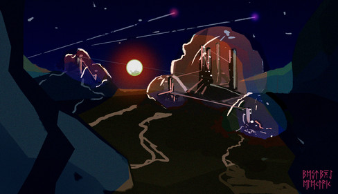 moon kingdom sketch