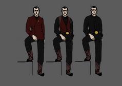 Warden Final Design Sketches