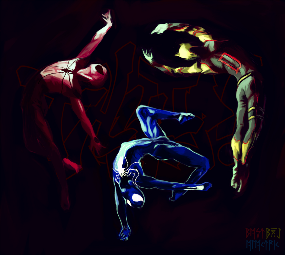 3 Jumping Heroes