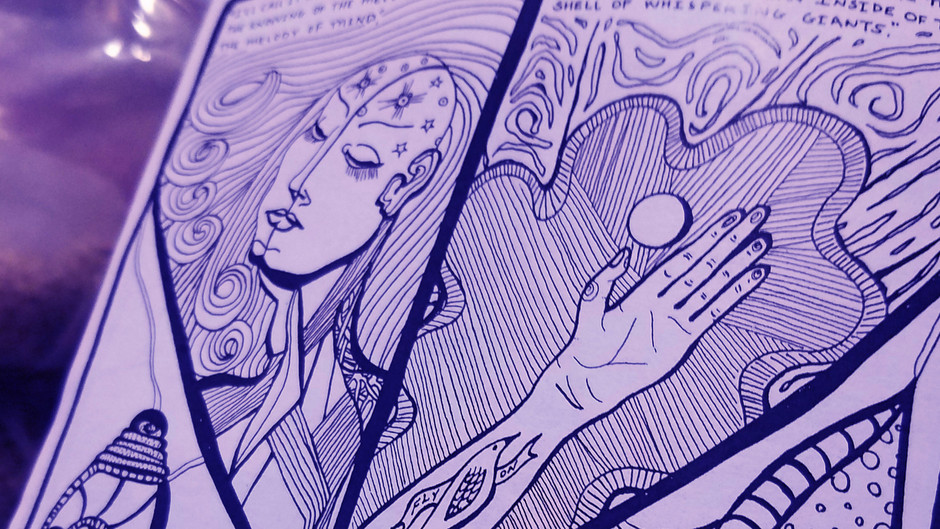 Zine Review: Cosmic Departures and Earthly Arrivals by Christina Lynch