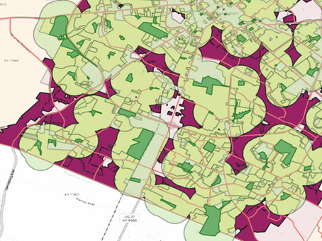 New Project in the Works! Mapping Lexington's Parks