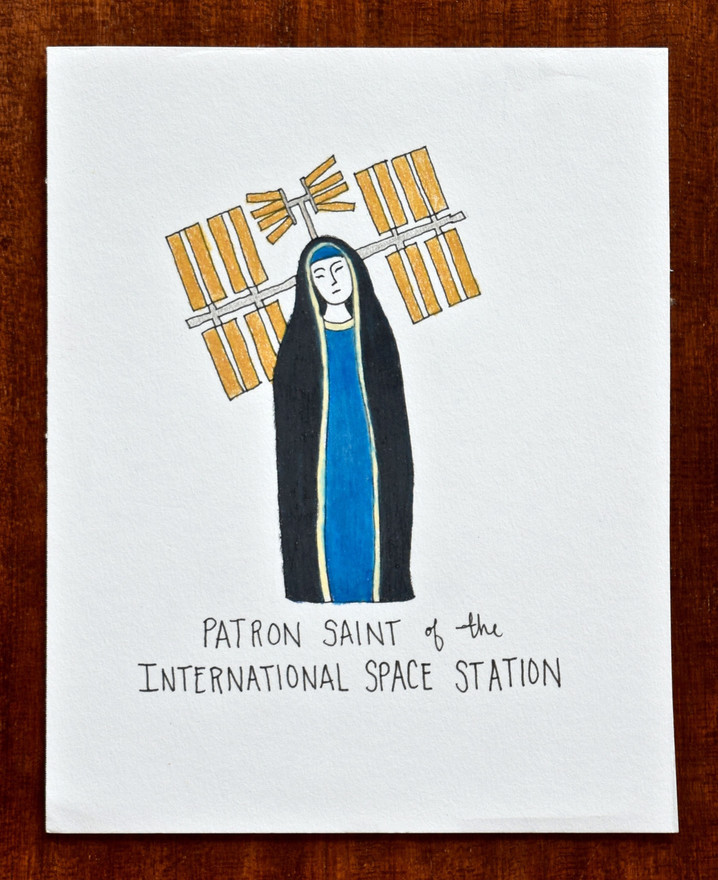 Patron Saint of the International Space Station