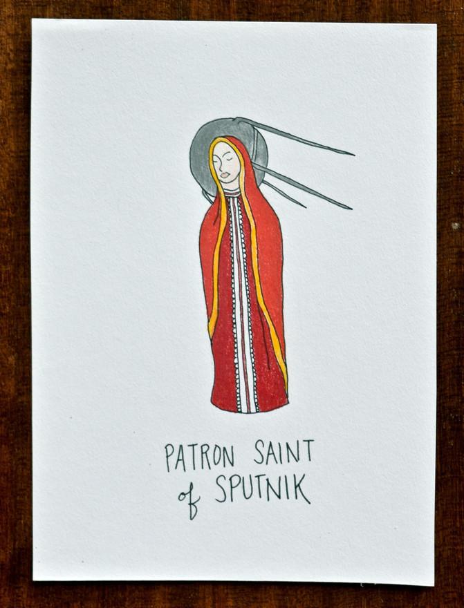 Patron Saint of Sputnik