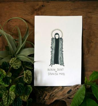 Patron Saint of Spanish Moss