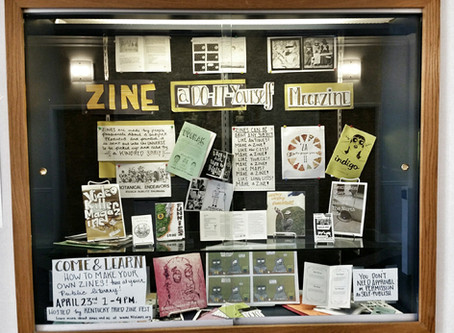 Library Zine Display