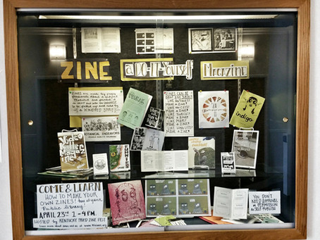 Library Zine Display