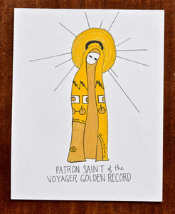 Patron Saint of the Voyager Golden Record