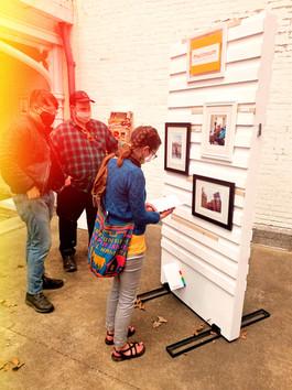 First Pop-up at Lexington Art League a Success!