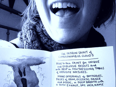 Zine Review: Patron Saints of Clouds by Anna Campomanes