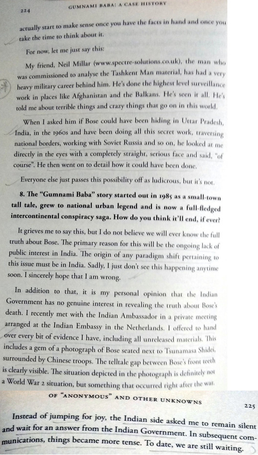 Gumnami Baba Interview Page 8