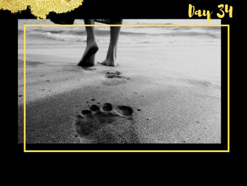 Day Thirty Four - When Heaven's Yes Encourages Our Yes