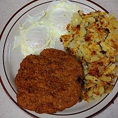 Chicken Fried Steak & 2 Eggs