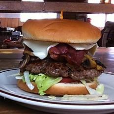 1/2 lb. Pepper Jack Bacon Burger