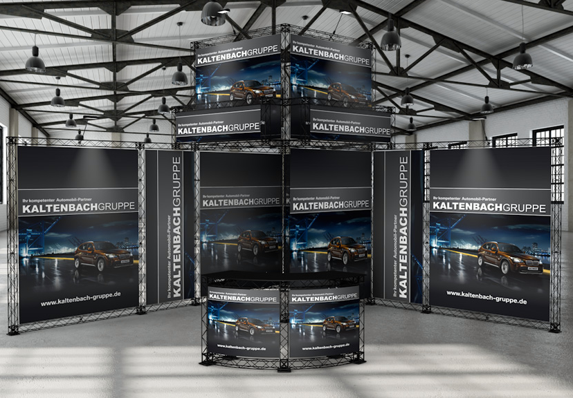 CROSSwire X-10 exhibition stand