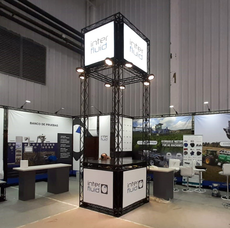 Epsilon15 exhibition stand