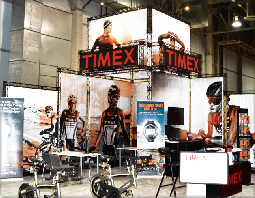CROSSwire X-10 exhibition stand